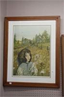 Thomas of tomorrow.  Peter Robson oak framed