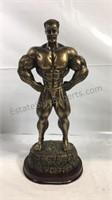 """13"""" tall strong man figure"""
