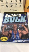 Lot of fitness books and Jay Cutler DVD