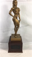 1995 Fitness trophy 21 inches tall