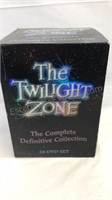 The Twilight Zone complete set seasons 1-5 case