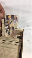 Box of Desert Storm Trading cards