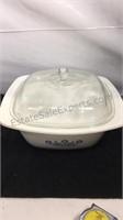 Glassbake 8 inch casserole dish, 4 quart Corning