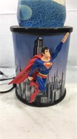 Superman lava light top has been repaired