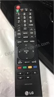 "26"" LG TV with Remote Missing power cord model No"