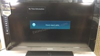 "40"" Samsung TV with remote model No"