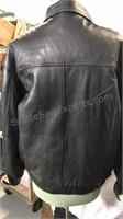 Chereskin New York Napa Black leather jacket size