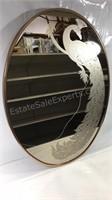 Gloria Eriksen Frosted Mid Century Metal Copper