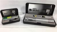 Pair of mini Magalite flash lights