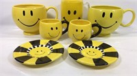Smile face cups and mugs
