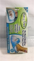 New in box Easyfeet scrubber