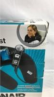 Conair heated massaging neck rest in box