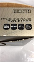 Open box Samsung DVD player