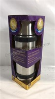 New  sealed package 34 ounce stainless steel