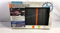 "Sealed box Fiskars 12"" rotary paper trimmer"
