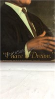 Martin Luther King I have a dream wood box and