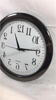 "11"" backwards clock battery operated"