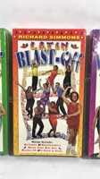 Set of 3 sealed Richard Simmons VHS tapes