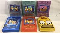 Simpsons DVD complete season sets 1 through 6
