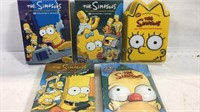 Simpsons DVD complete season sets 7 through 11