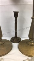 Group of candleholders