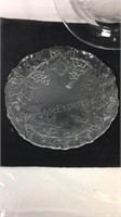 Group of three serving platters