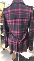 Green With Envy size XL purple and black plaid