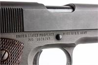 Gun Remington Rand M1911 Pistol in 45 ACP Mfg:1943