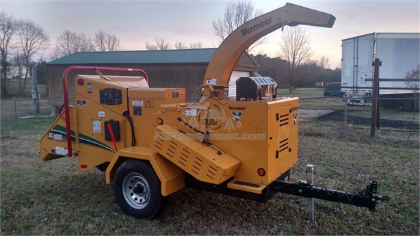 VERMEER BC1000XL Pull-Behind Wood Chippers Logging Equipment