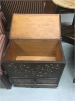 Stenciled Mule Chest by Eldred Wheeler