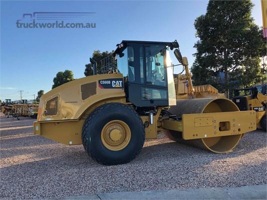 2018 Caterpillar CS66B Heavy Machinery for Sale