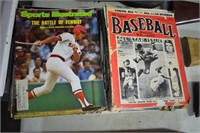 Old Baseball Magazines Sports Illustrated