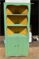 Old Wooden Corner Cabinet