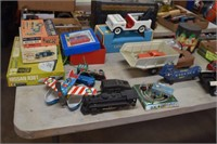 Partial Listing Old Toys