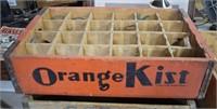 Rare Orange Kist Wooden Box Hickory, NC