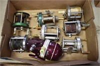 Large Selection Vintage Fishing Reels