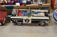 Japan Tin Police Car Mint