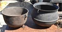 Old Castiron Wash Pots