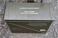 Large Ammo Metal Box