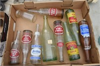 Old Soda Bottles Royal Crown, Etc