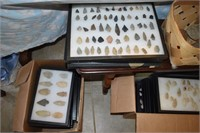 75+ Lots Cases Arrowheads