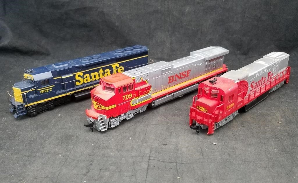 2 Ho Scale Locomotives Engines Bnsf Santa Fe | 2nd Cents Inc