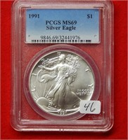 Weekly Coins & Currency Auction 10-12-18