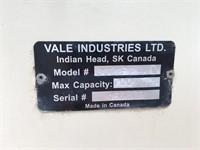 2015 Vale Ind 3622 FP-HD Portable Belt Feeder