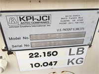 2015 KPI-JCI 6' x 20', Triple Deck Screen Plant