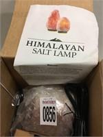 HIMALAYAN SALT LAMP (ONE ONLY)