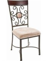 TOTAL OF 2 HOME SOURCE FABRIC DINING CHAIR