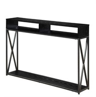 2-TIER CONSOLE TABLE(NOT ASSEMBLED)