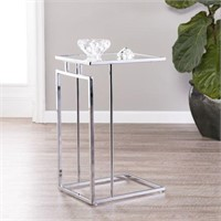 COLBI MIRROR- TOPPED C-TABLE (NOT ASSEMBLED)