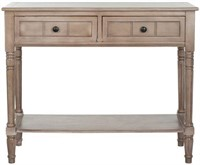 SAFAVIEH CONSOLE TABLE (NOT ASSEMBLED)